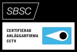 SBSC – Certifierad anläggningsfirma CCTV